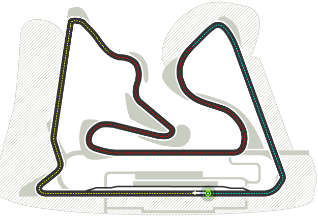 Trazado de Bahrain International Circuit