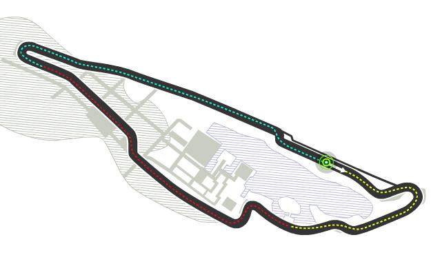 Trazado de Circuit Gilles-Villeneuve