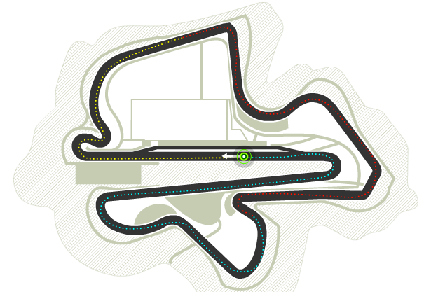Trazado de Sepang International Circuit