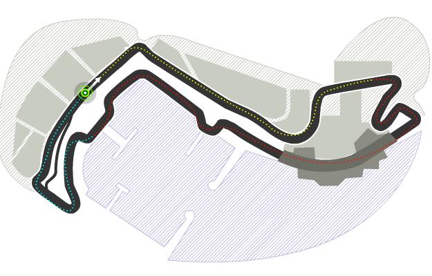 Trazado de Circuit de Montecarlo