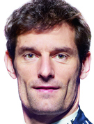 Retrato de Mark Webber
