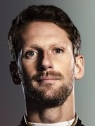 Retrato de Romain Grosjean