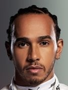 Retrato de Lewis Hamilton