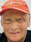 Retrato de Niki Lauda