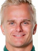 Retrato de Heikki Kovalainen