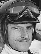 Retrato de Graham Hill