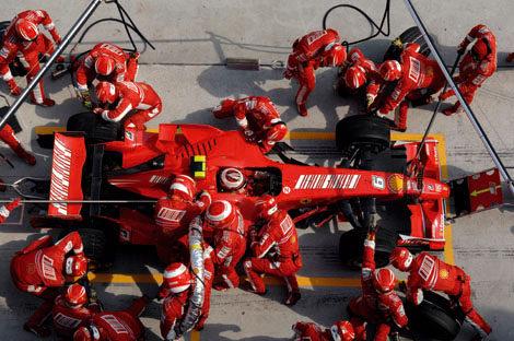 Raikkonen corrió en Sepang 'a medio gas' por no cambiar el motor