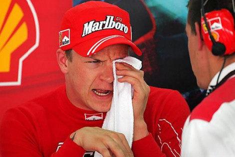 Raikkonen también domina la segunda sesión de entrenamientos libres, más ajustada