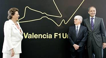 Bernie Ecclestone niega que el Gran Premio de Valencia dependa de la victoria del PP