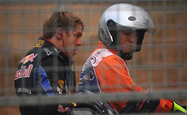 """Vettel: """"Al menos mi abandono no fue mi culpa"""""""