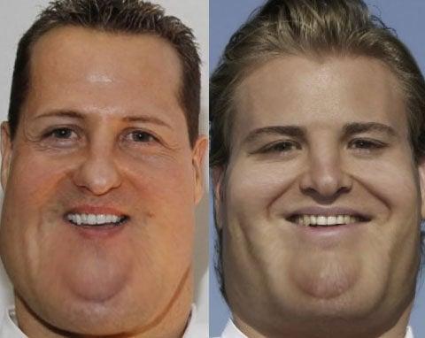 La puzolana: Pilotos gordos