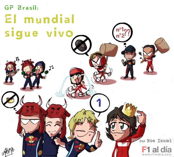 Los Chibis (33): Red Bull baila la samba en Brasil