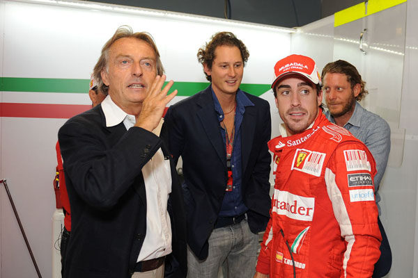 "Montezemolo: ""No ha sido culpa de Alonso"""
