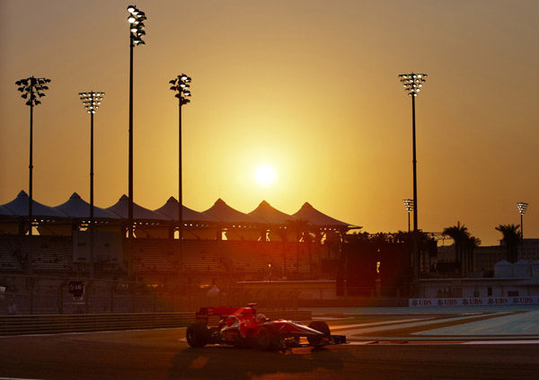 Alineación de pilotos para los entrenamientos con Pirelli
