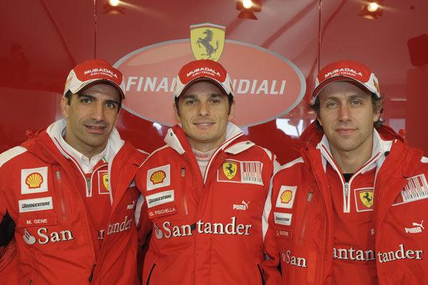 Luca Badoer abandonará Ferrari
