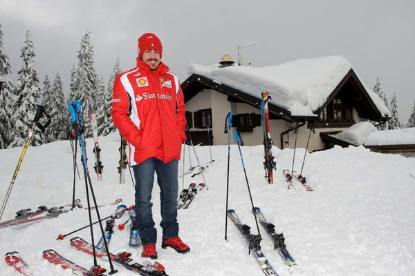 Fernando Alonso sufre una lesión muscular 001_small