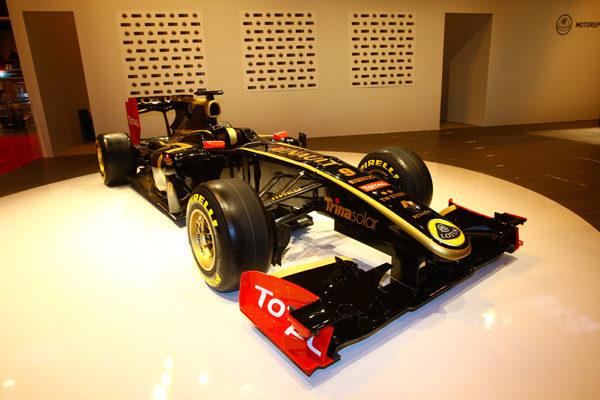 Lotus Renault correrá con licencia británica en 2011