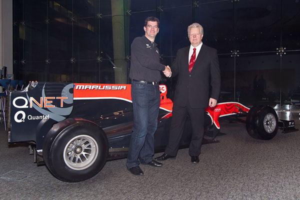 Quantel se convierte en patrocinador de Virgin Racing