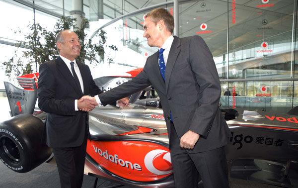 Temporada 2010: El equipo Vodafone McLaren Mercedes