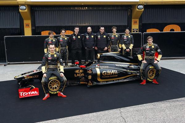 Lotus Renault GP presenta su nuevo monoplaza, el R31