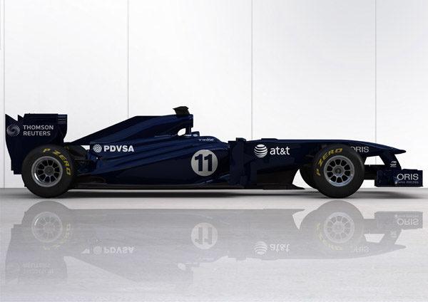 Williams muestra su nuevo monoplaza de 2011, el FW33