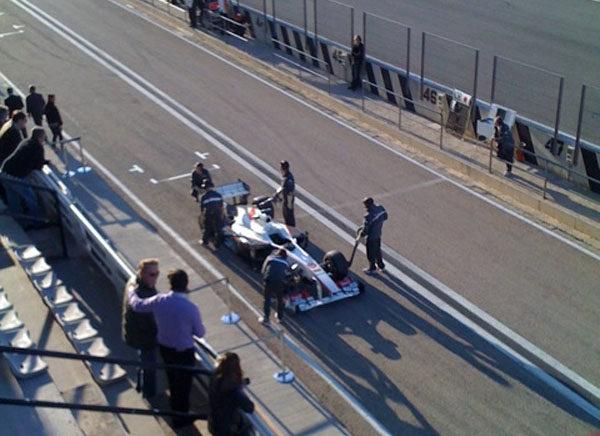 Vettel es el más rápido en la primera jornada de test de 2011