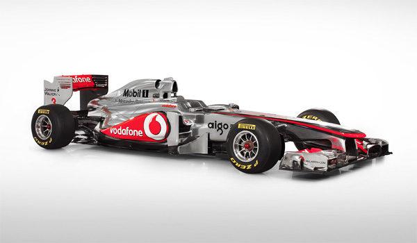 McLaren presenta su monoplaza para la temporada 2011, el MP4/26