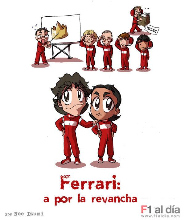 Los Chibis (36): Ferrari 2011