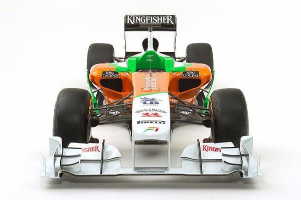 Force India presenta su monoplaza para la temporada 2011, el VJM04