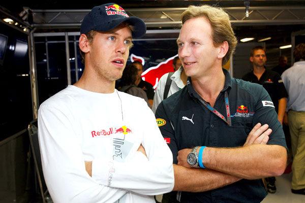 """Horner: """"Vettel es libre de soñar con Ferrari"""""""