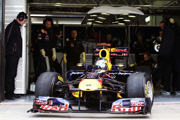 Infiniti, patrocinador principal de Red Bull en 2011 y 2012