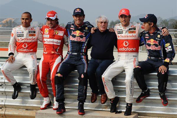 """Ecclestone: """"Si volviese, sería en Ferrari y con Vettel y Alonso como pilotos"""""""