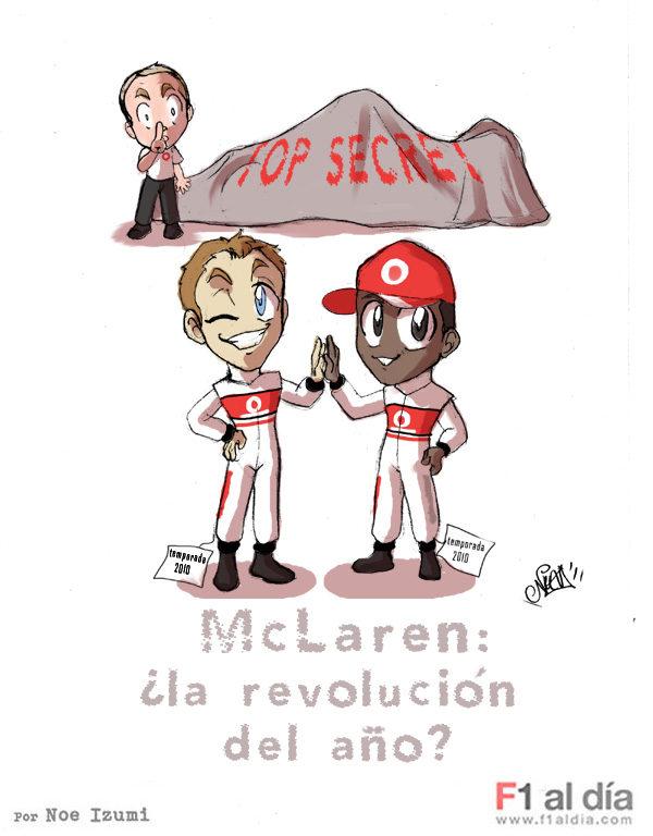 Los Chibis (39): McLaren 2011