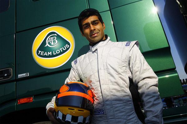 Karun Chandhok, nuevo piloto reserva de Team Lotus