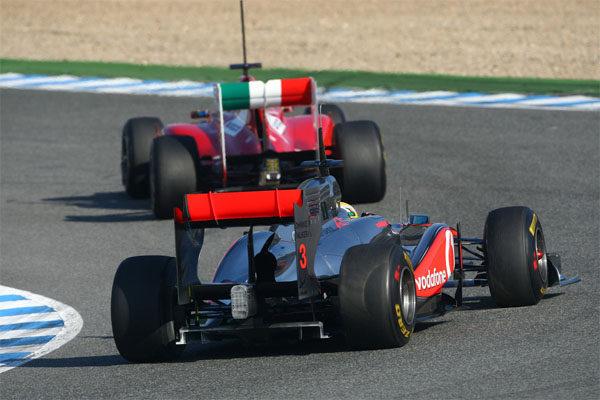 La FIA limita el uso del DRS a la pista seca