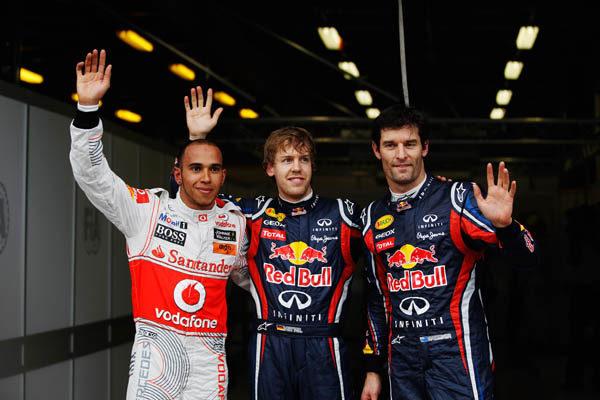 Vettel se hace con la 'pole' en Melbourne. Hamilton segundo y los Ferrari muy lejos