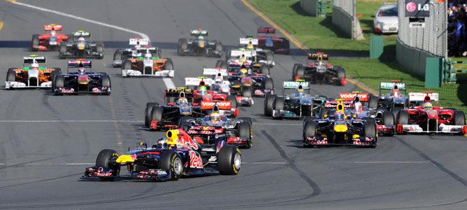 Vettel logra la victoria en el GP de Australia 2011