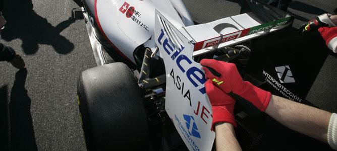 Los dos Sauber descalificados del GP de Australia de 2011