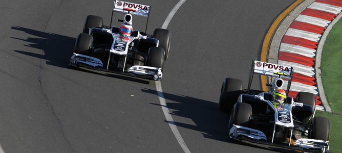 Williams espera un mayor rendimiento del DRS en Malasia