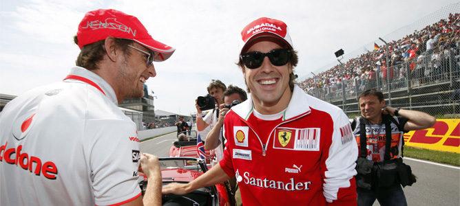 """Button: """"Siempre hay que tener en cuenta a un bicampeón que pilota un Ferrari 002_small"""