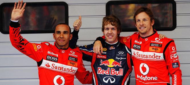 Tercera 'pole' consecutiva del año para Vettel en el GP de China 2011