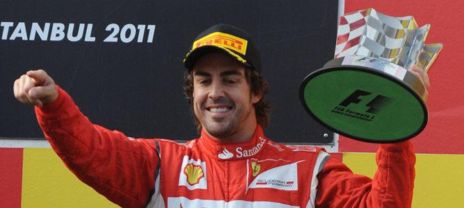 Vettel vuelve a ganar y Alonso hace podio en Turquía 2011