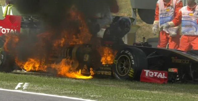 Lotus Renault GP repara el coche de Heidfeld a tiempo para la clasificación 001_small