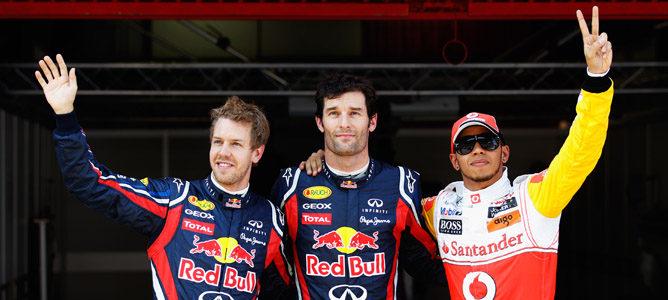 Webber le arrebata la 'pole' a Vettel en el GP de España 2011