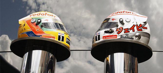 Hamilton y Button correrán con cascos de diamantes en Mónaco 002_small