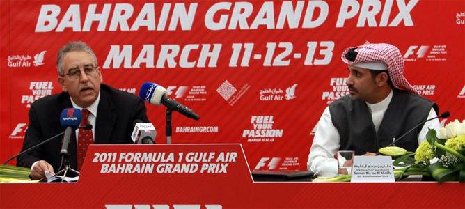 Baréin renuncia a organizar su Gran Premio en 2011
