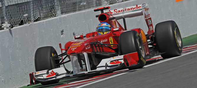 Alonso lidera una caótica segunda sesión de libres en Canadá