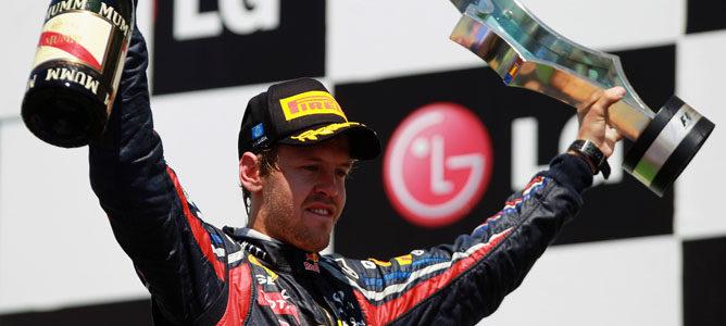 """Vettel tras su sexta victoria: """"El objetivo es seguir ganando carreras"""""""