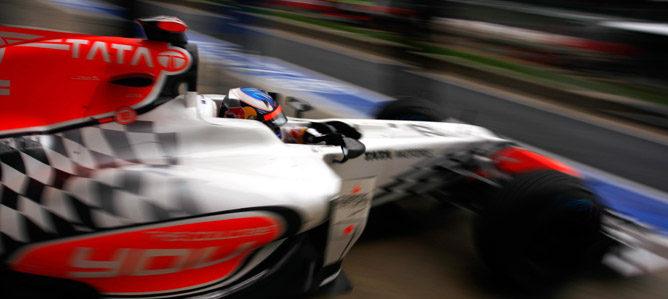 Webber es el más rápido en la primera y mojada sesión de libres de Gran Bretaña 002_small