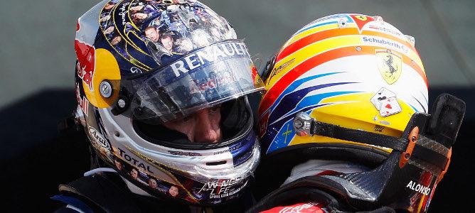 """Vettel: """"Cuando te ganan, hay que aceptarlo"""""""
